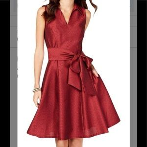 NWT Signature Robbie Bee Red Dress